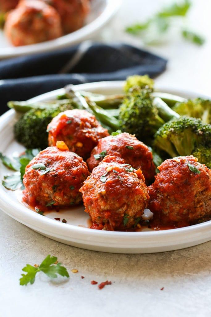 Photo of Turkey Zucchini Meatballs
