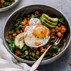 Kale & Sweet Potato Saute