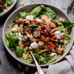 Balsamic Roasted Vegetables with Quinoa
