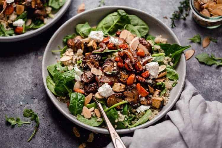 Balsamic Roasted Vegetable And Quinoa Salad The Real Food Dietitians
