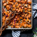 Maple-Bacon Roasted Sweet Potatoes