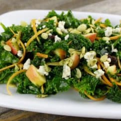 Massage Kale Salad