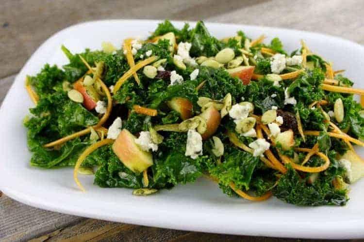 Massage Kale Salad