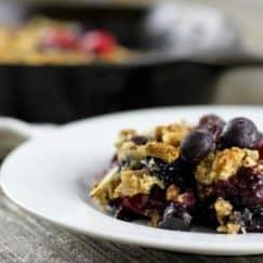 Grain-Free Berry Crisp