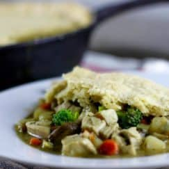 Grain-free Turkey Pot Pie