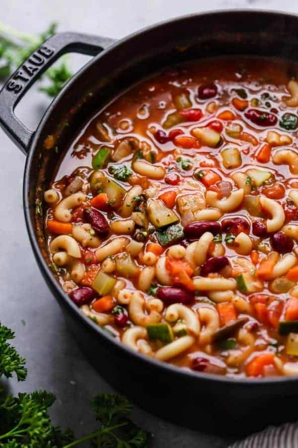 Minestrone Soup - The Real Food Dietitians