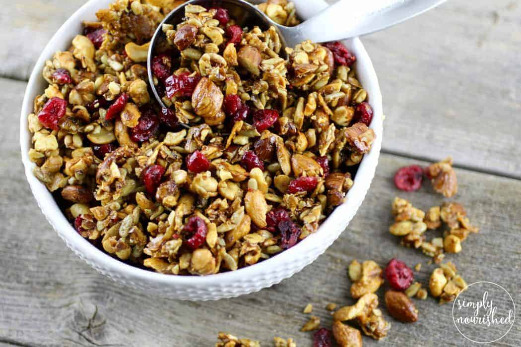 Paleo granola the real food dietitians ccuart Image collections
