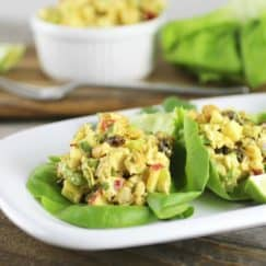 Curry Chicken Salad {Video}