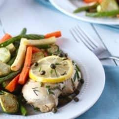 Garlic Roasted Vegetables + 30 Minute Meal Series