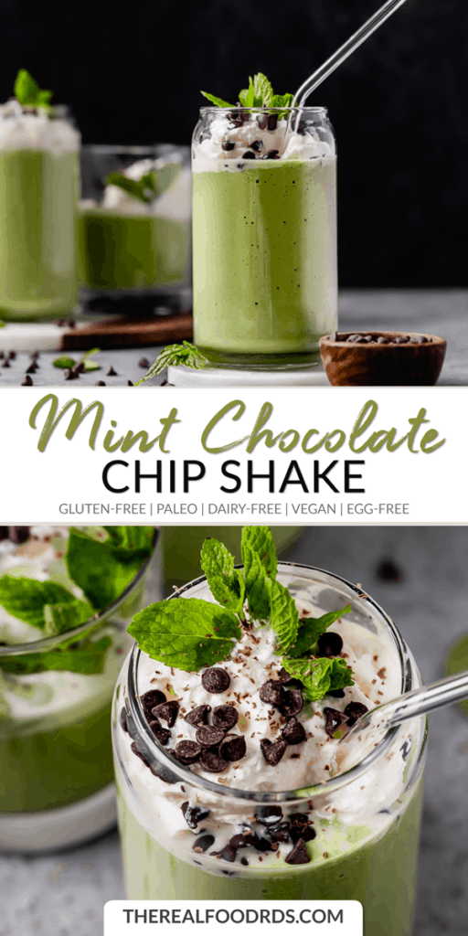 Long Pin Image for Mint Chocolate Chip Shake