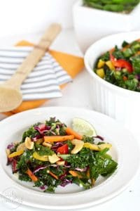 Whole30 Thai Kale Salad