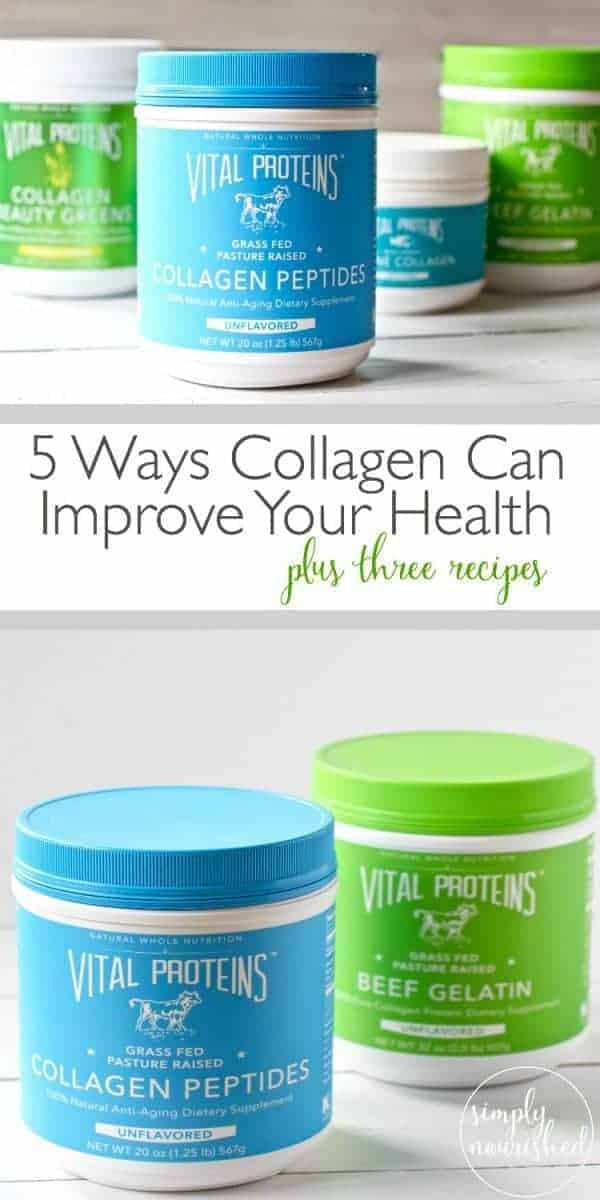Pinterest image for 5 Ways Collagen Can Improve Your Health
