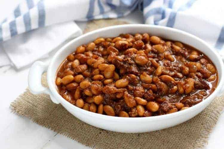 Slow Cooker Baked Beans With Bacon The Real Food Dietitians