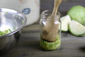 How to Make Sauerkraut: A Tutorial | https://therealfooddietitians.com/how-to-make-sauerkraut/