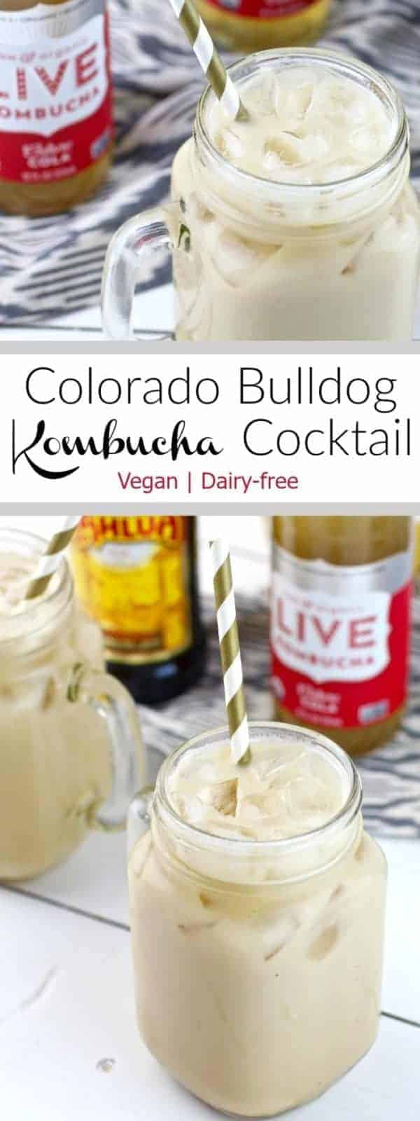 LIVE Kombucha Culture Cola replaces regular cola in this Colorado Bulldog Cocktail! You can now enjoy this classic cocktail without all of the added sugar!
