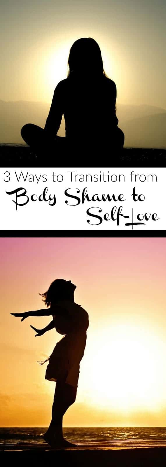 3 Ways to Transition from Body Shame to Self-Love | In your own skin is the only place you belong and when you allow yourself to be comfortable there, that's when you're the most beautiful | thereadfoodrds.com