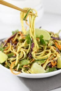 Spicy Asian Zucchini Salad