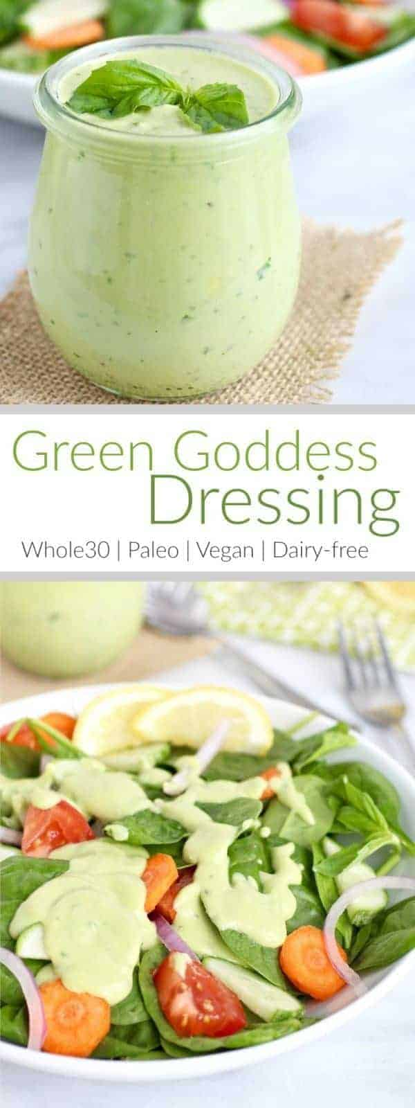 Green Goddess Dressing - The Real Food Dietitians