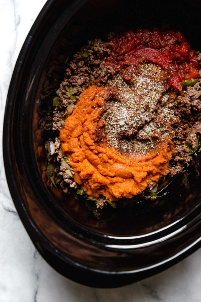 Slow-Cooker Pumpkin Chili - The Real Food Dietitians 1