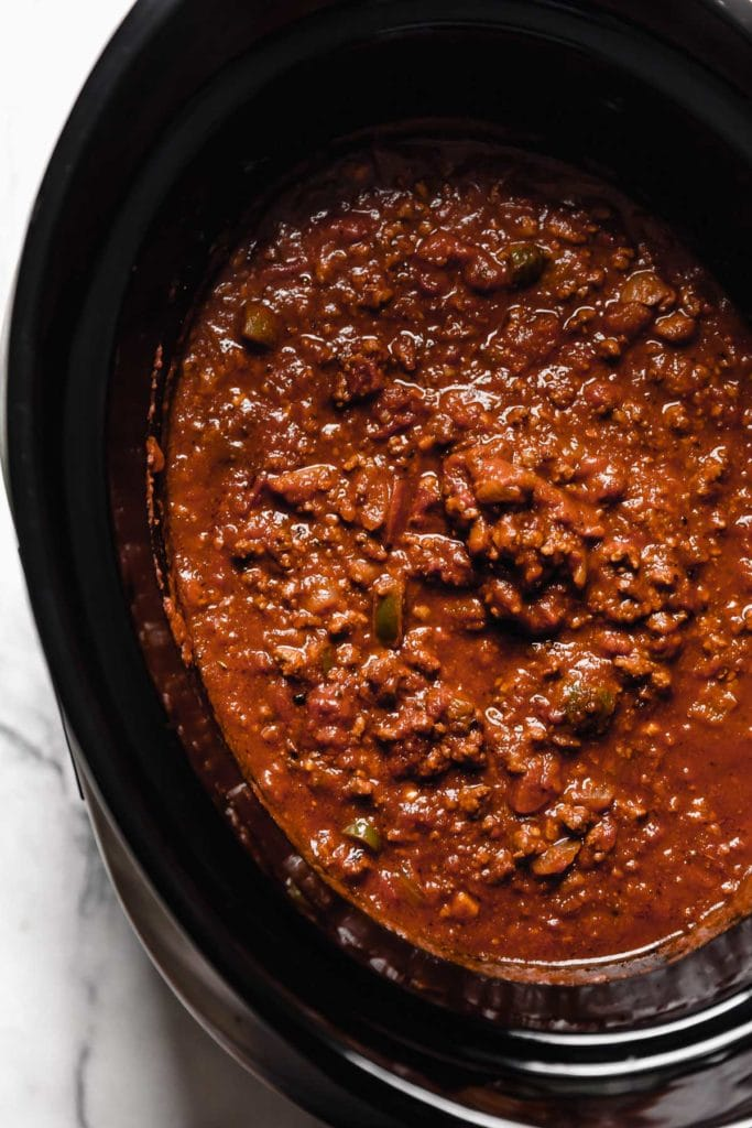 Slow-Cooker Pumpkin Chili - The Real Food Dietitians 2