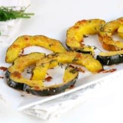 Herb-Roasted Parmesan Acorn Squash