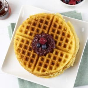 Grain-free Crispy Waffles