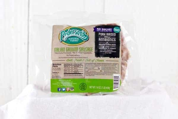 Pederson's Natural Farms Italian Sausage