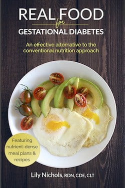 Real Food for Gestational Diabetes Book