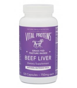 Vital Proteins Beef Liver Supplement   https://therealfooddietitians.com/top-10-foods-for-a-healthy-pregnany/