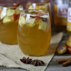 Apple Cider Kombucha Sangria