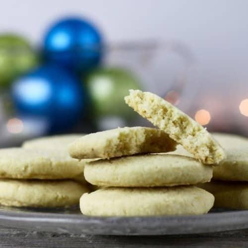 Gluten-free Lemon Shortbread Cookies | Egg-free + Nut-free | The Real Food Dietitians | https://therealfooddietitians.com/gluten-free-lemon-shortbread-cookies/