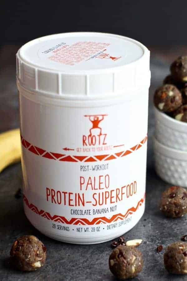 Rootz Post-Workout Paleo Protein-Superfood