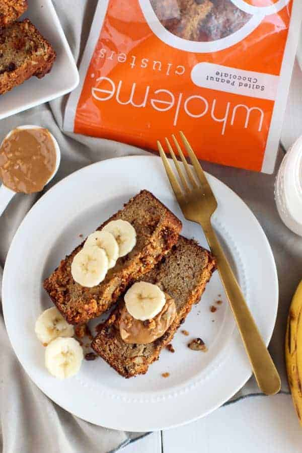 Grain-free Salted Peanut Chocolate Banana Bread-1