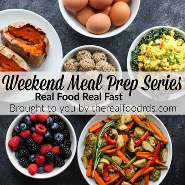 Weekend Meal Prep Series