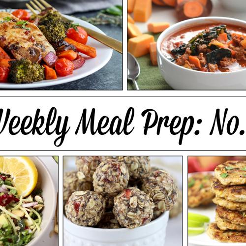 Weekly Meal Prep Menu: No.1 | The Real Food Dietitians | https://therealfooddietitians.com/weekly-meal-prep-menu-no-1/