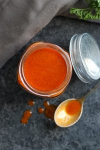 Homemade Buffalo Sauce (Whole30)
