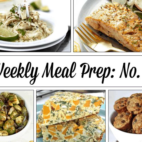Weekly Meal Prep Menu : No. 2   The Real Food Dietitians   https://therealfooddietitians.com/weekly-meal-prep-menu-no-2/