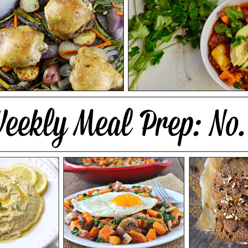 Weekly Meal Prep Menu: No. 3 | The Real Food Dietitians | https://therealfooddietitians.com/weekly-meal-prep-menu-no-3/