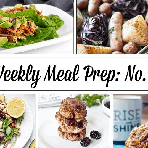 Weekly Meal Prep Menu: No. 5 | The Real Food Dietitians | https://therealfooddietitians.com/weekly-meal-prep-menu-no-5/