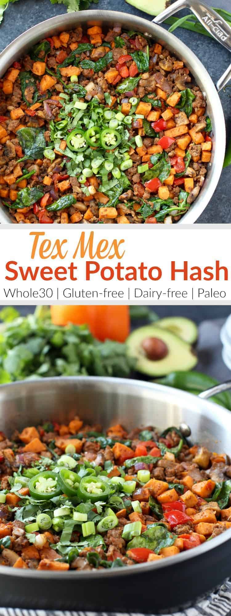 Sweet Potato Tex Mex Hash pin