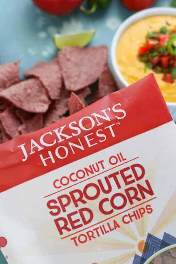 Jackson's Honest Sprouted Red Corn Tortilla Chips