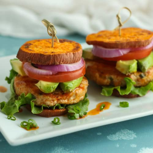 Buffalo Chicken Sliders (Whole30) | The Real Food Dietitians | https://therealfooddietitians.com/buffalo-chicken-sliders/