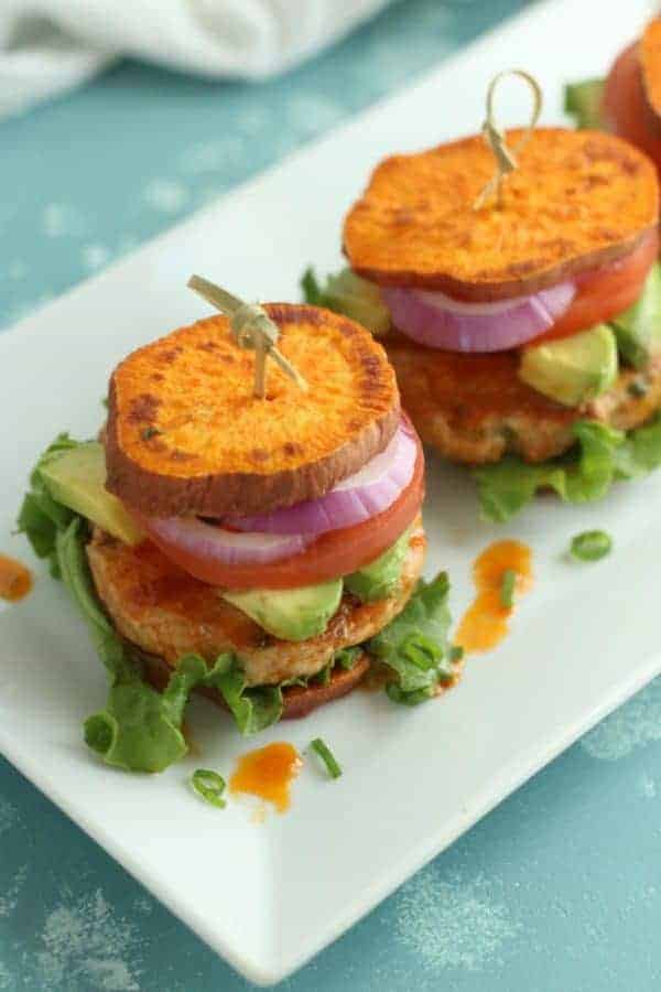 Buffalo Chicken Sliders (Whole30)   The Real Food Dietitians   https://therealfooddietitians.com/buffalo-chicken-sliders/