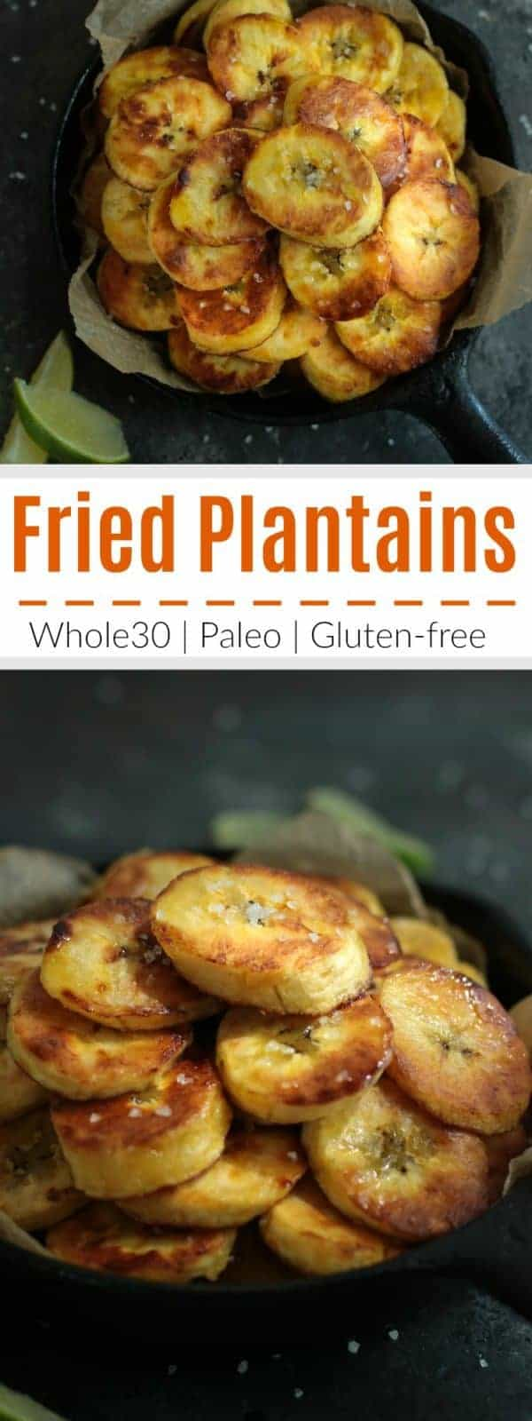 Pinterest image for Fried plantains