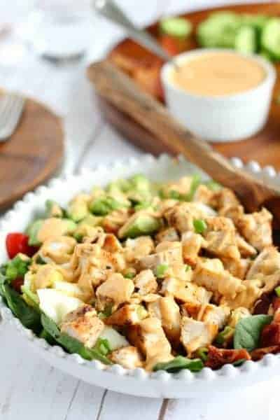 Whole30 Chicken Cobb Salad