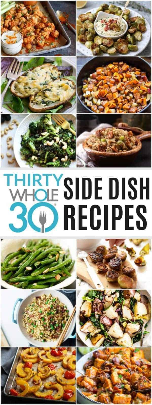 30 Whole30 Side Dish Recipes pin