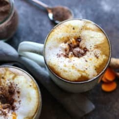 Spiced Golden Milk Hot Cocoa | The Real Food Dietitians | https://therealfoodrds.com/spiced-golden-milk-hot-cocoa/