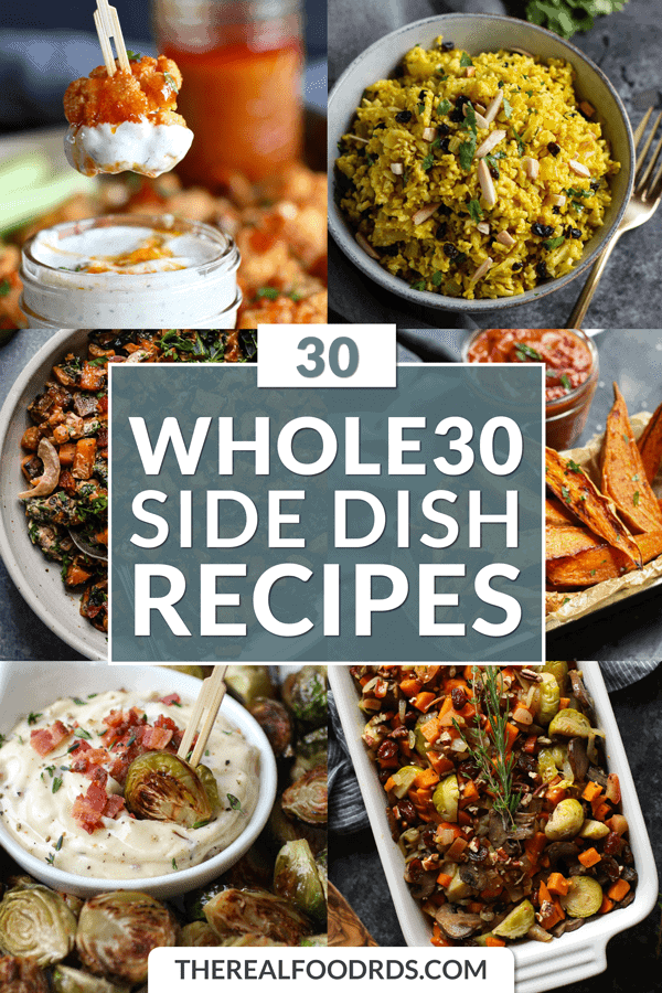 Pin image for Whole30 Side Dish Recipes