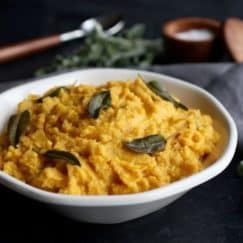 Cauliflower Butternut Squash Mash with Sage