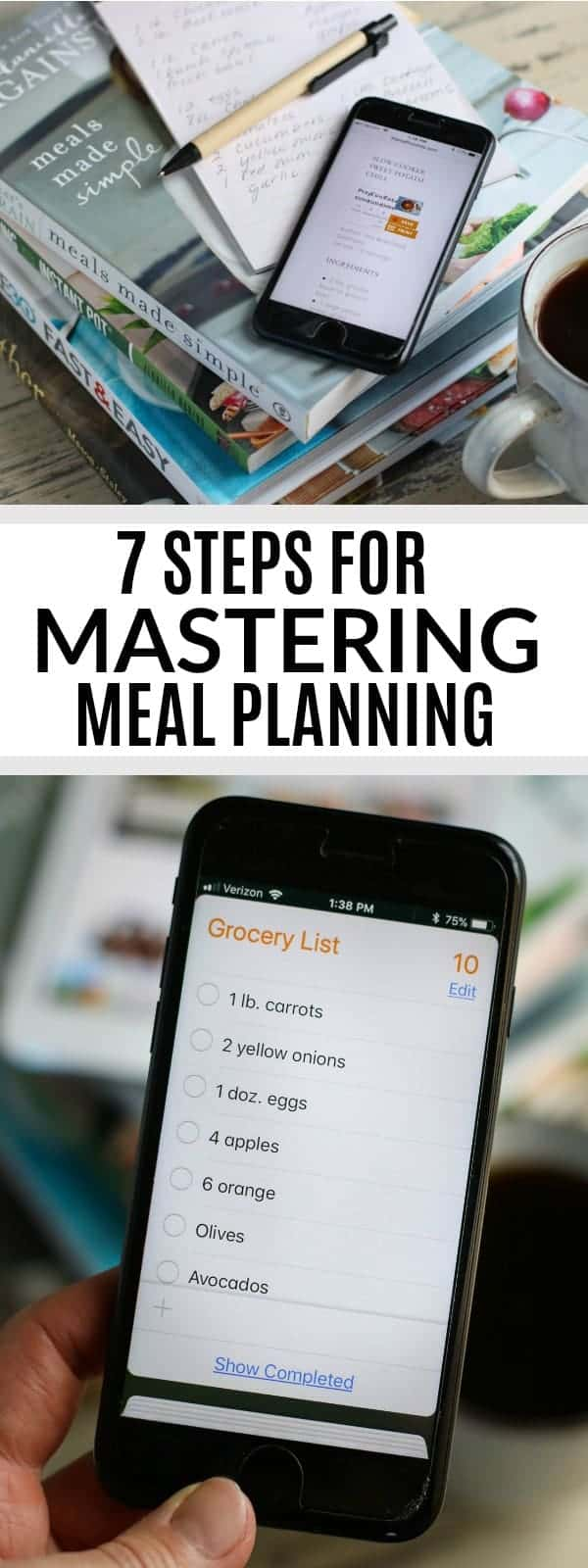 7 Steps for Mastering Meal Planning in 2018 | meal planning tips | meal planning made easy | how to meal plan | meal planning ideas | healthy meal planning tips || The Real Food Dietitians #mealplanning #healthymealplanning #mealplanningtips